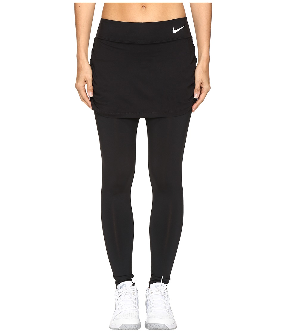 Nike - Court Pure Tennis Skapri (Black/White) Women's Clothing
