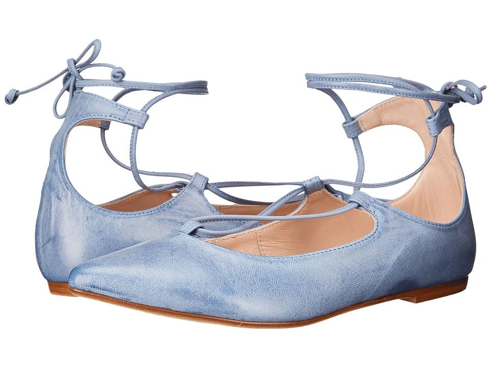 Massimo Matteo Ankle Strap (Denim) Women