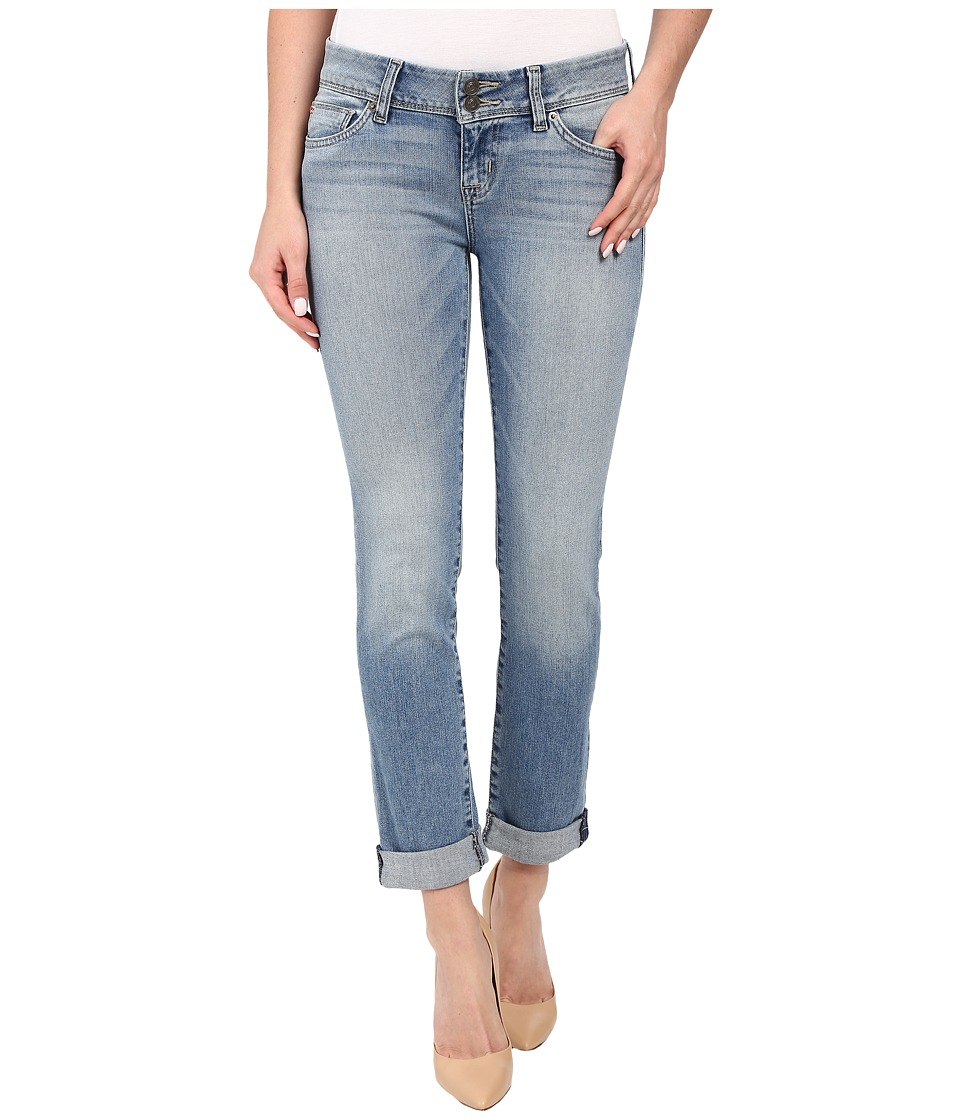 Hudson - Ginny Ankle Straight with Cuff in Causeway (Causeway) Women's Jeans