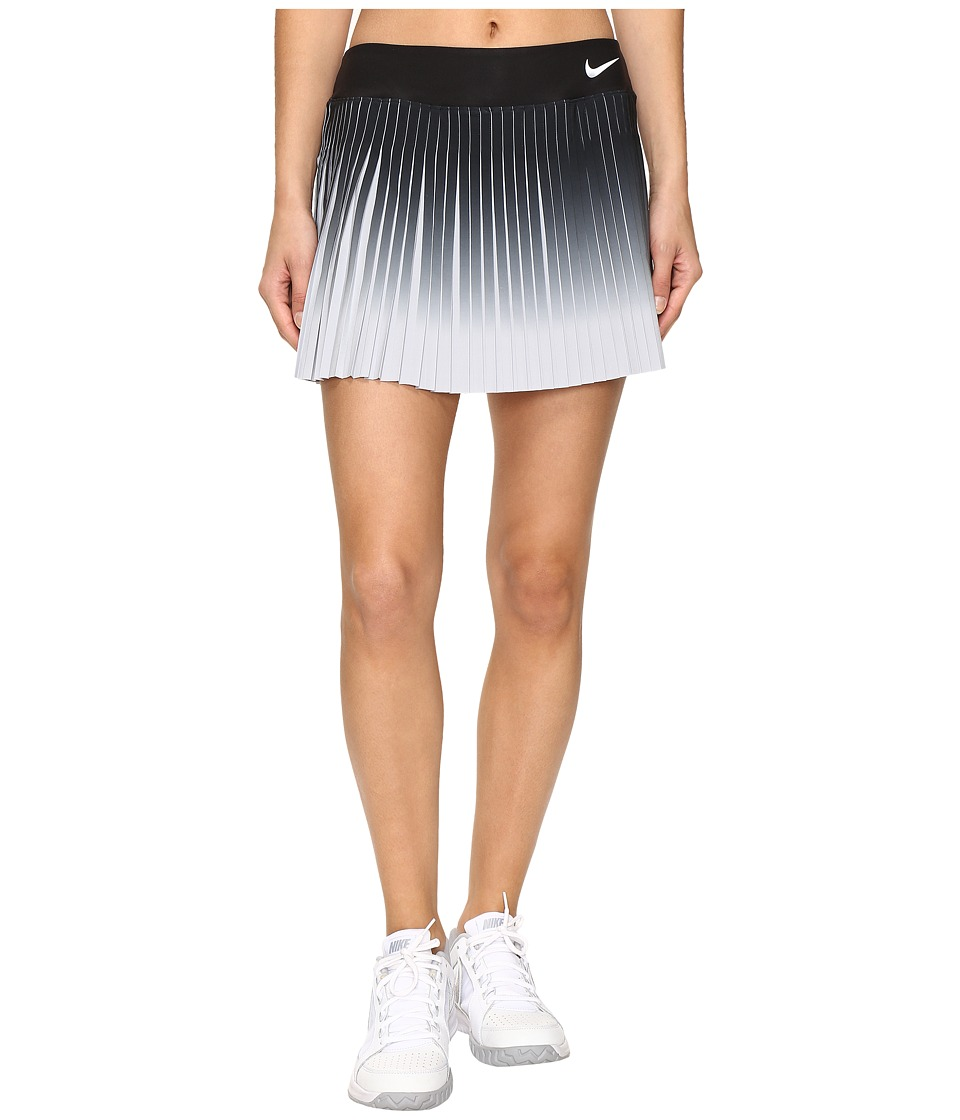 Nike - Court Flex Victory Skirt (Black/White) Women's Skirt