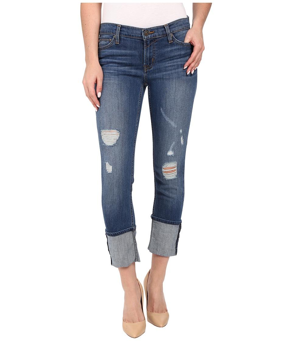 Hudson - Muse Crop Skinny w/ 5 Cuff in Hustle (Hustle) Women's Jeans