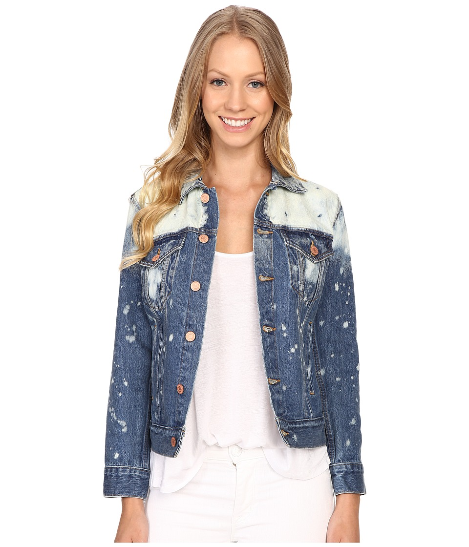 Lucky Brand - Legend Trucker Jacket (Seascape Surf) Women's Coat
