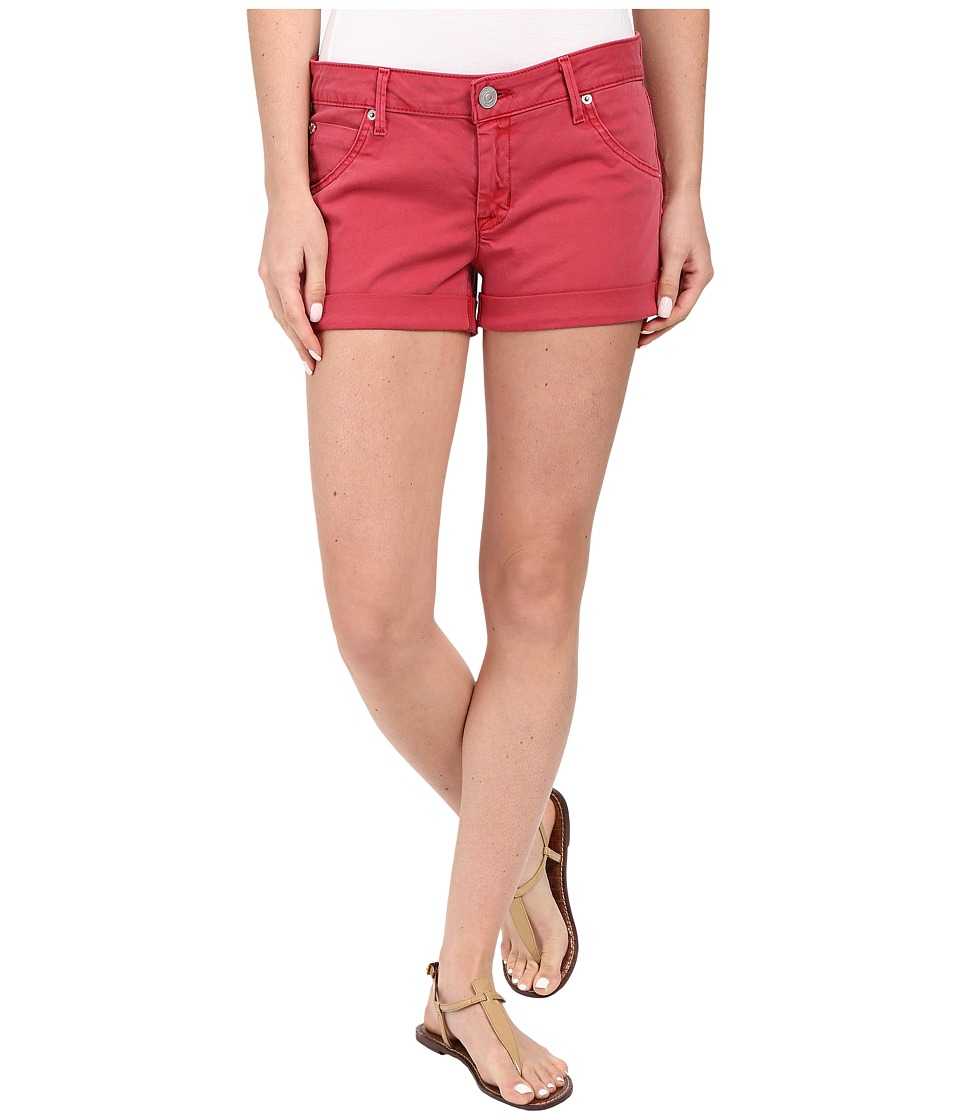 Hudson - Hampton Cuffed Shorts in Red Stone (Red Stone) Women's Shorts