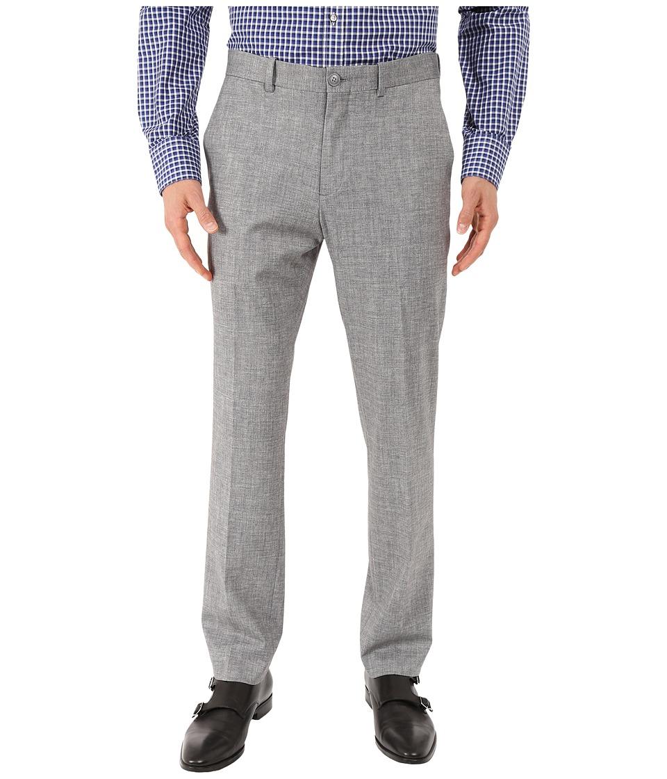 Perry Ellis Portfolio - Slim Heather Knit Pants (Alloy) Men's Casual Pants