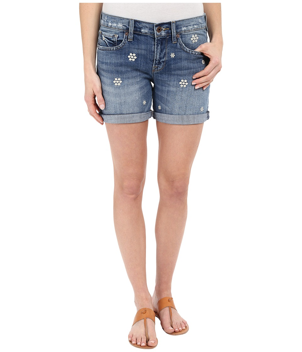 Lucky Brand - The Roll Up Shorts (Hawaiian Gardens) Women's Shorts