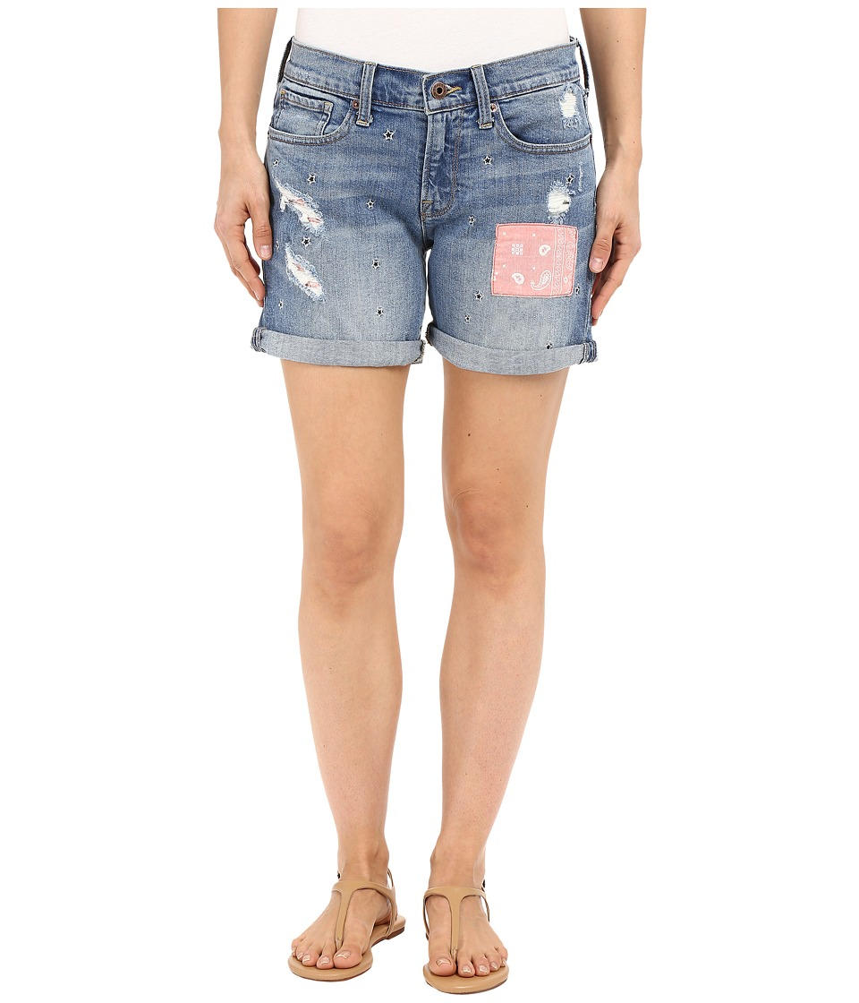 Lucky Brand - The Roll Up Shorts (National City) Women's Shorts