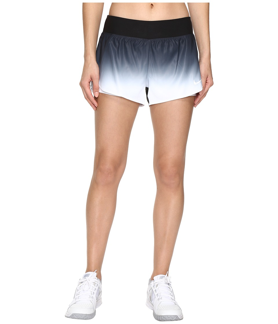 Nike - Court Flex Ace Tennis Short (Black/White) Women's Shorts