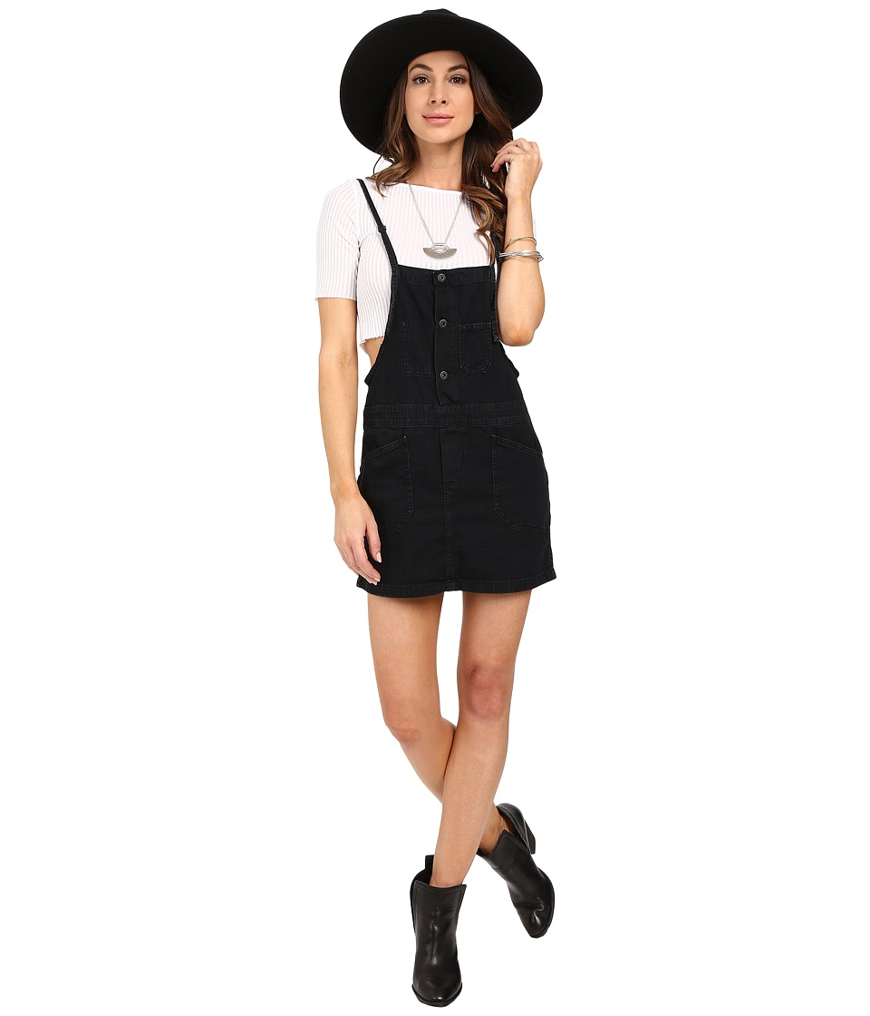 Lucky Brand Skirtall Skirt (Black Overdye) Women