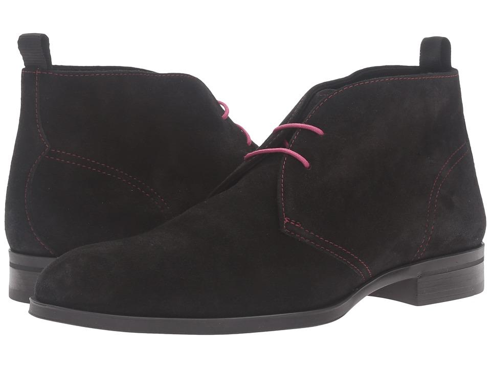Donald J Pliner - Siro (Black) Men's Shoes
