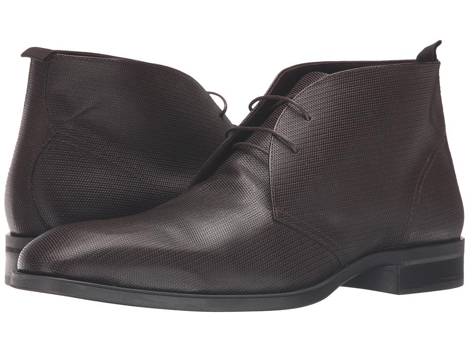 Donald J Pliner - Siro (Brown) Men's Shoes