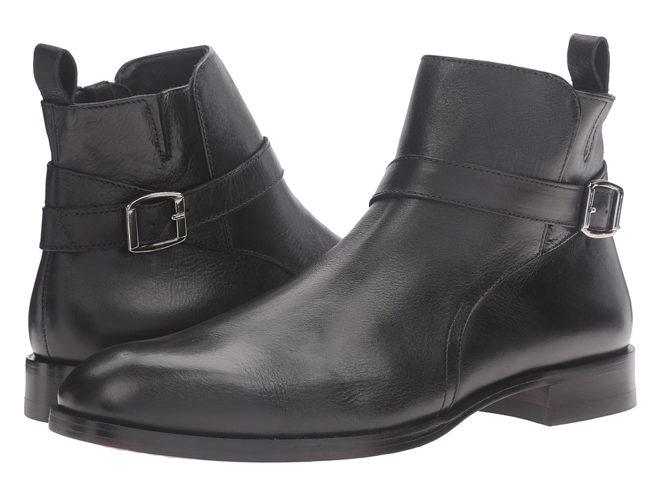 Donald J Pliner - Zaccaro (Black) Men's Shoes