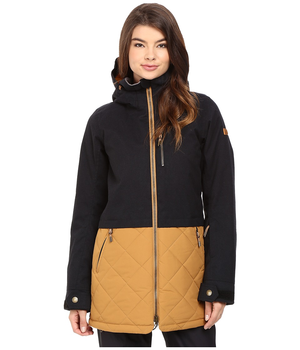 Roxy - Hartley Jacket (True Black) Women's Coat