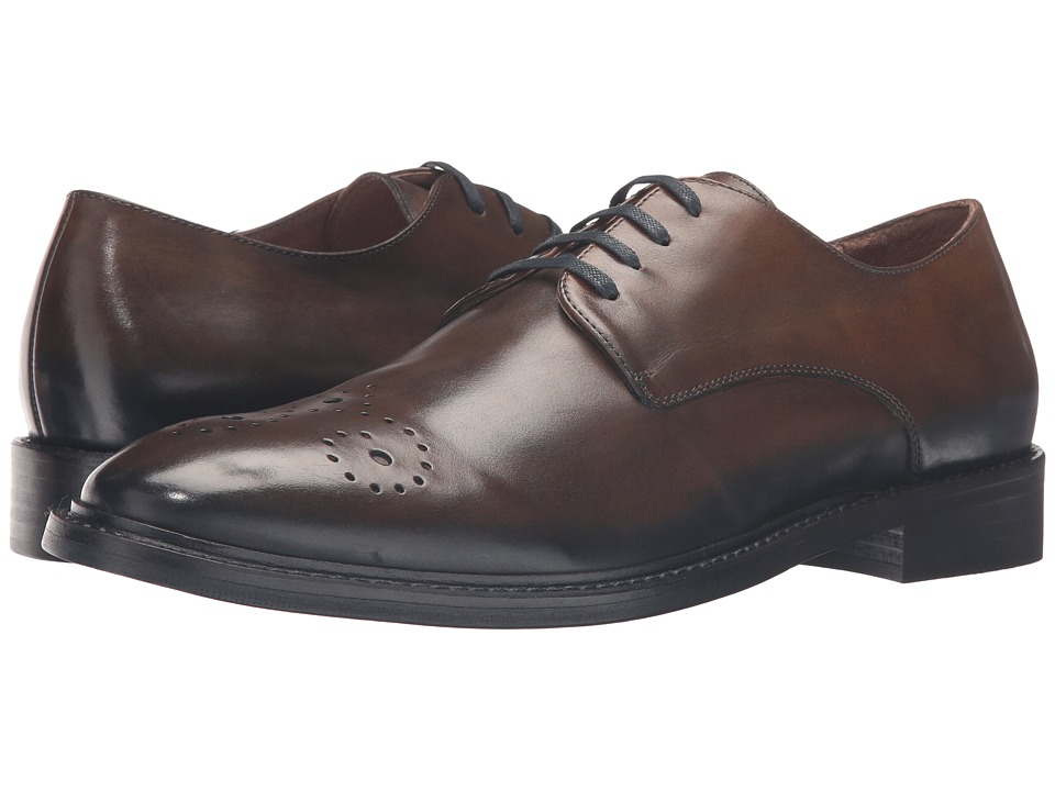 Donald J Pliner - Tussio (Brown) Men's Shoes