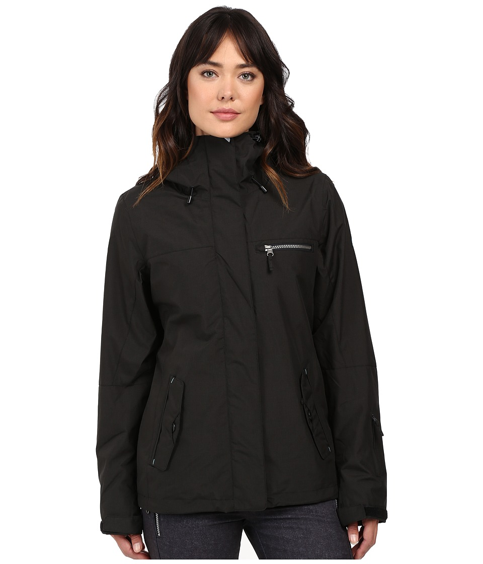 Roxy - Jetty 3-in-1 Jacket (True Black) Women's Coat