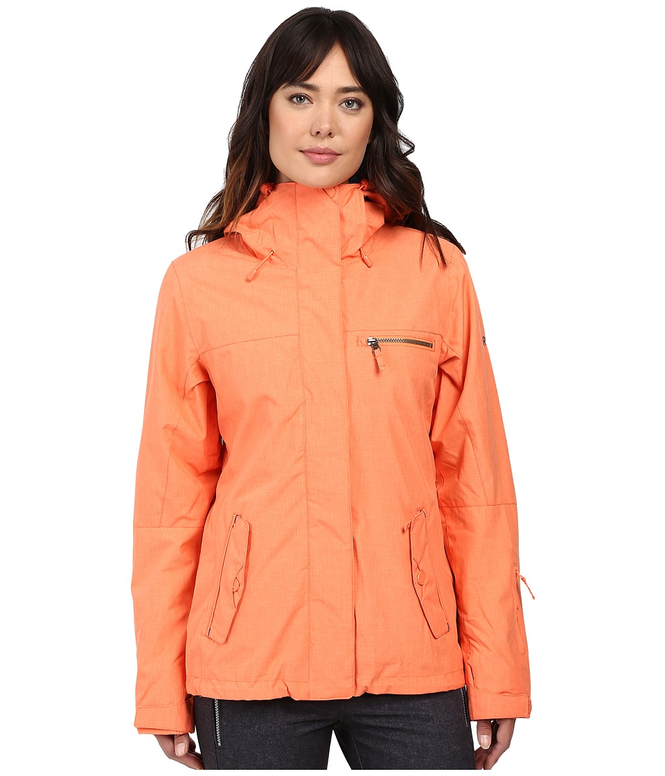 Roxy - Jetty 3-in-1 Jacket (Camelia) Women's Coat