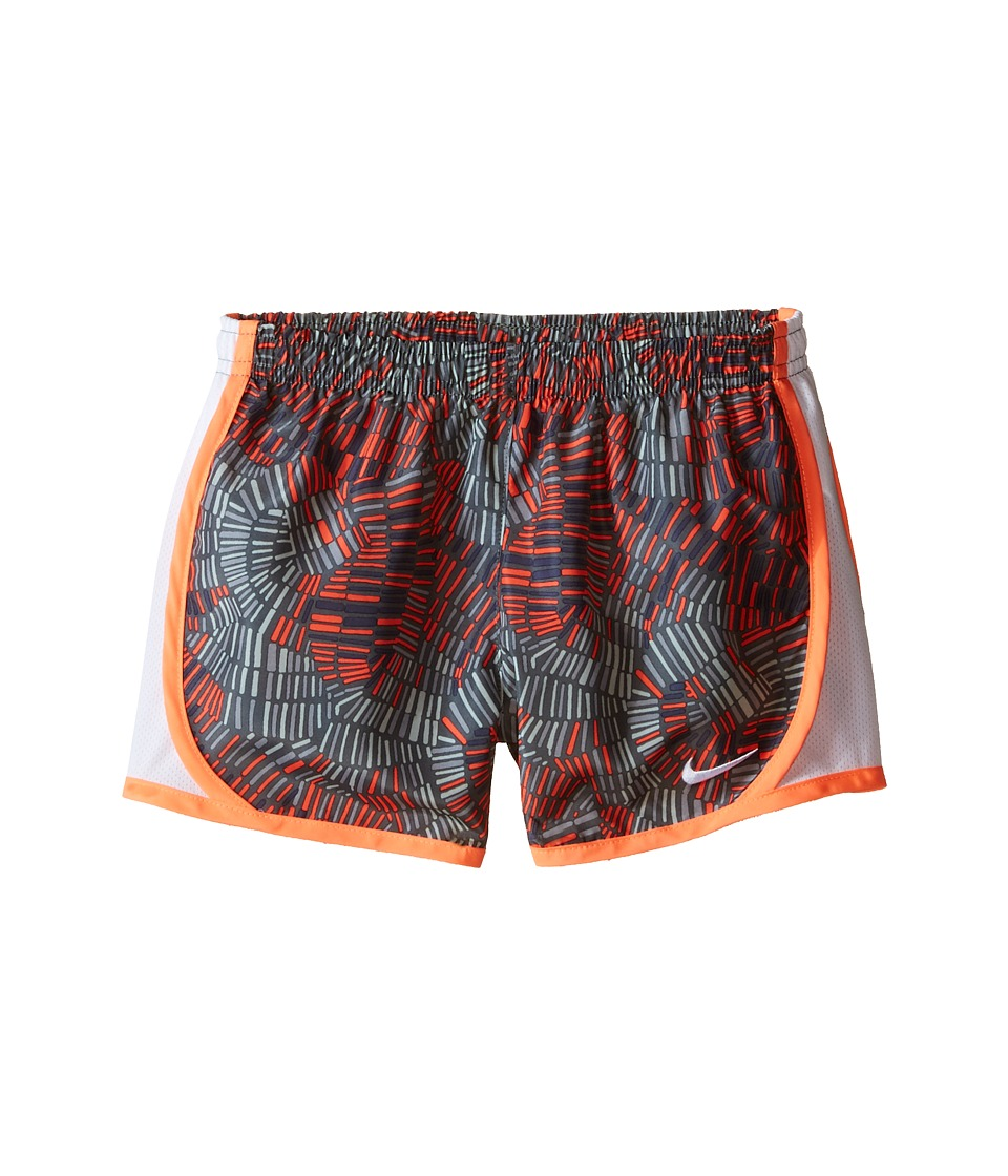 Nike Kids - Tempo Allover Print Short (Little Kids) (Cool Grey) Girl's Shorts