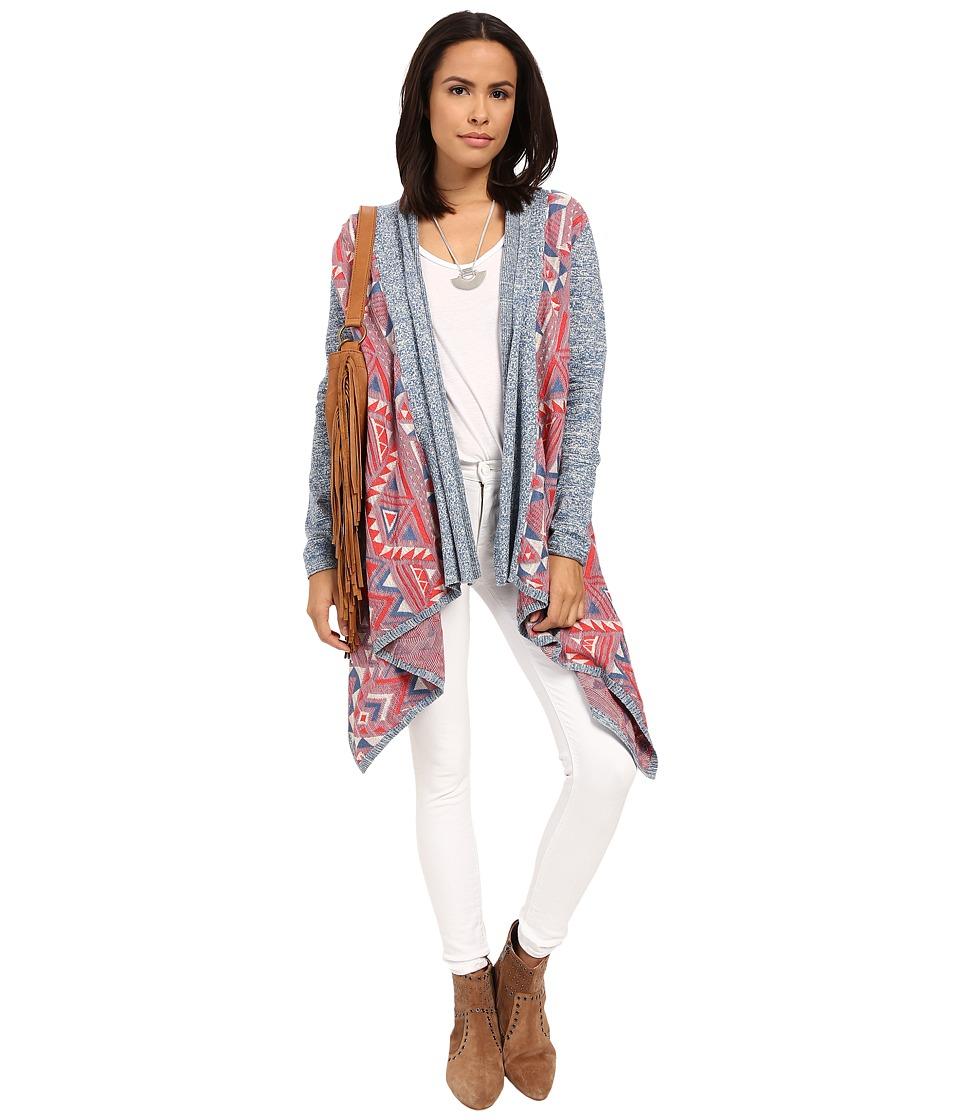 Lucky Brand - Multicolor 3rd Piece Top (Multi) Women's Sweater