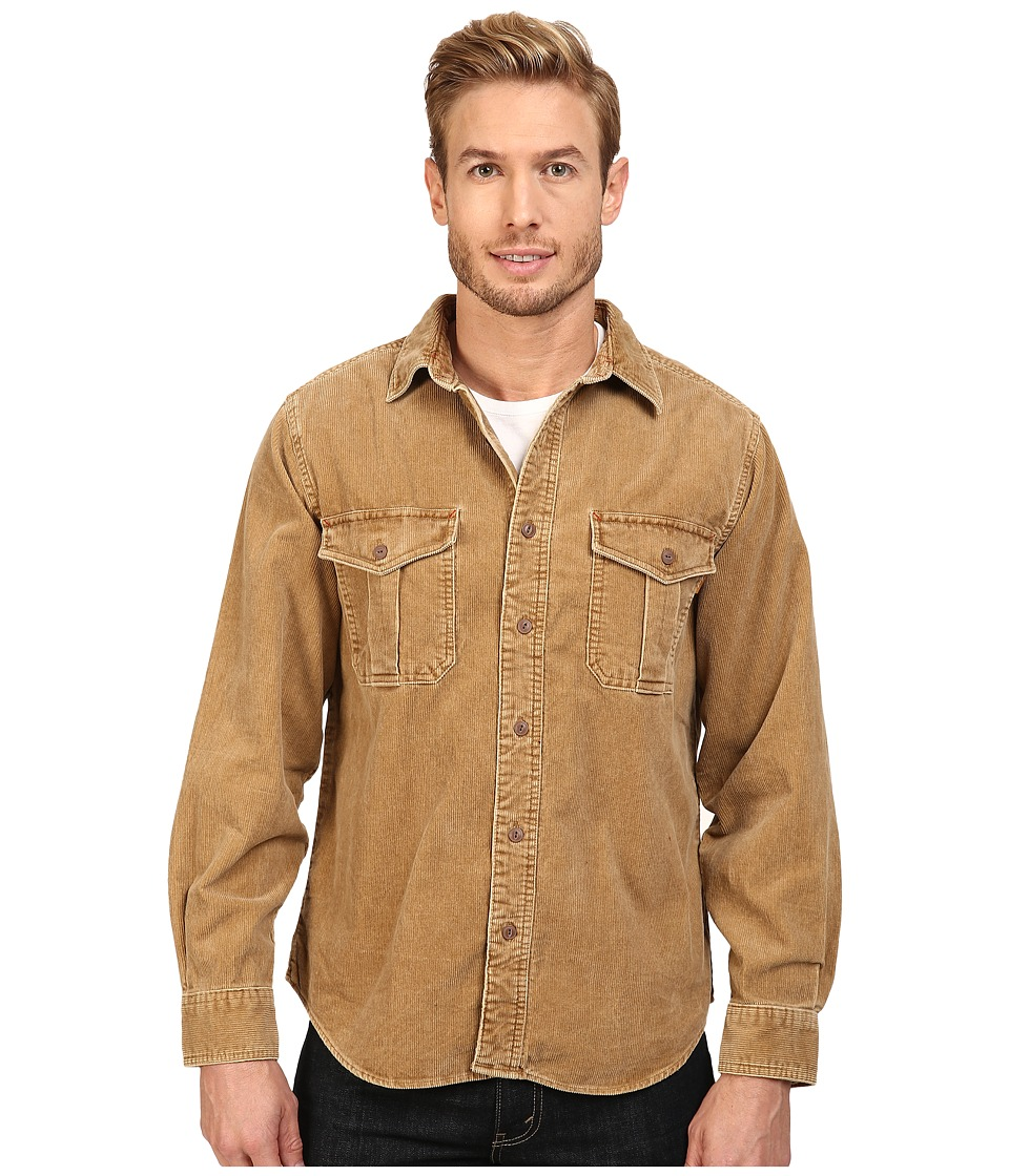 Woolrich - Hemlock Cord Shirt Regular Fit (Chicory 1) Men's Clothing