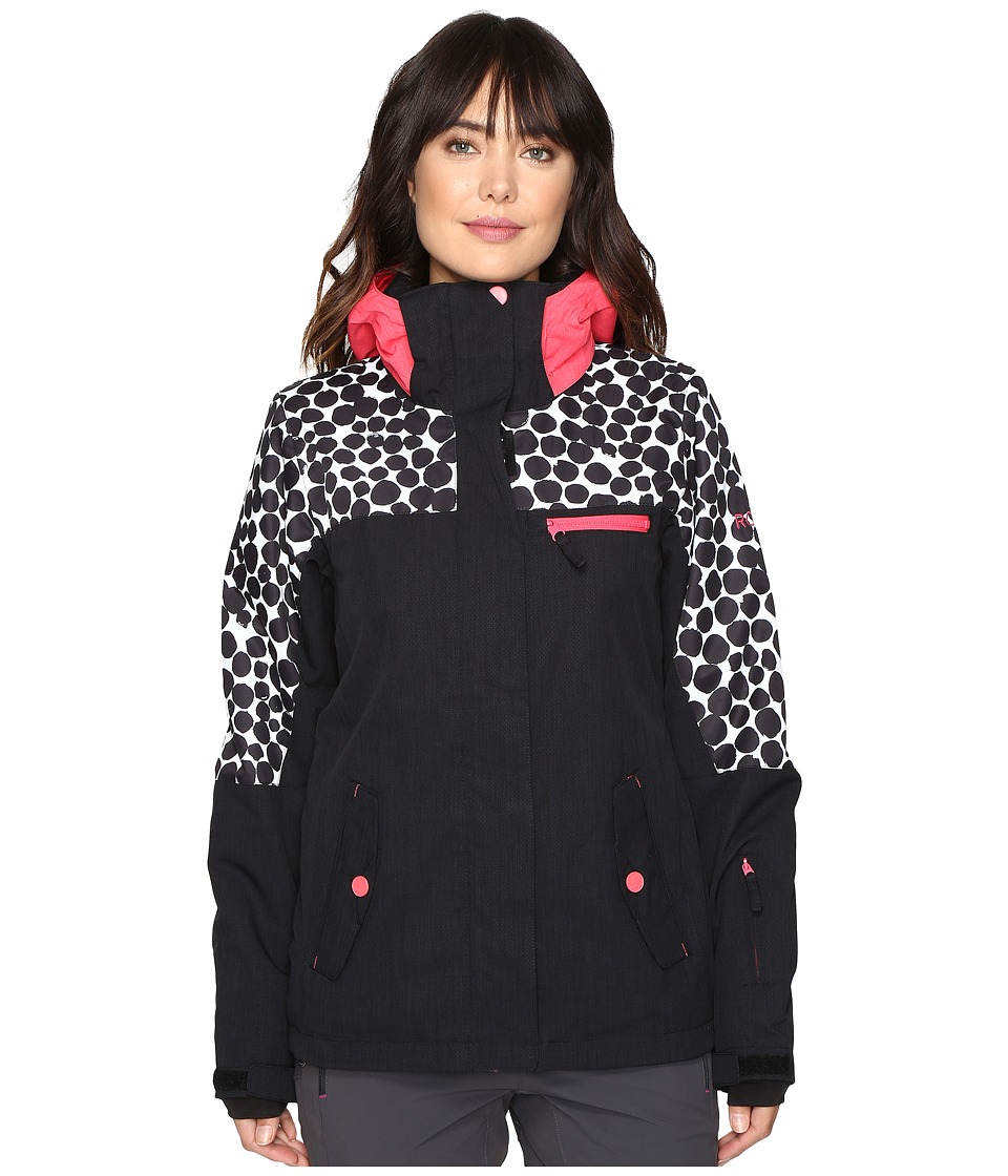 Roxy - Jetty Block Jacket (Irregular Dots) Women's Coat