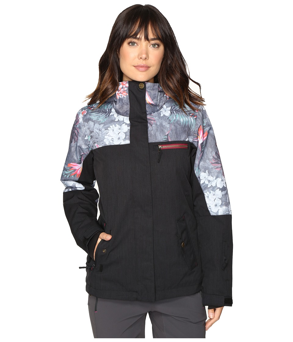 Roxy - Jetty Block Jacket (Hawaiian Tropik) Women's Coat
