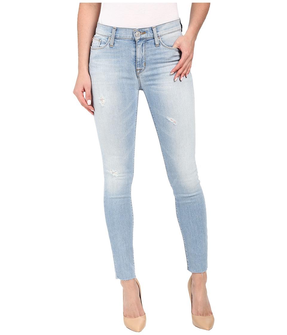 Hudson - Nico Mid-Rise Ankle Raw Hem Super Skinny in Hatchback (Hatchback) Women's Jeans
