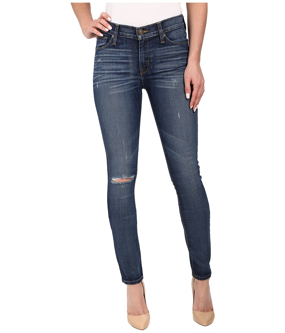 Hudson - Shine Mid-Rise Skinny in Offshore (Offshore) Women's Jeans