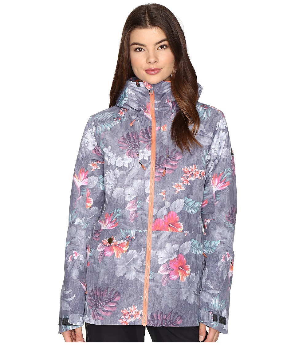 Roxy - Essence Jacket (Hawaiian Tropik) Women's Coat