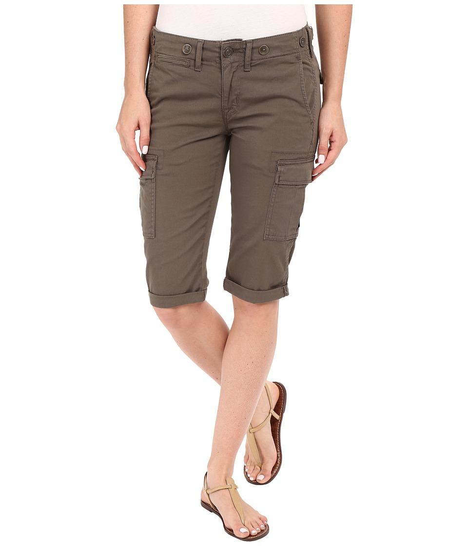Hudson - Charlie Cuffed Cargo Shorts in Brunswick Green (Brunswick Green) Women's Shorts