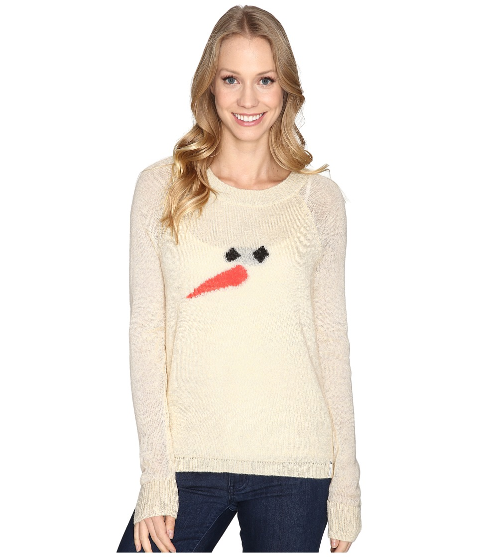 Woolrich - Motif Mohair Crew Sweater (Wool Cream 1) Women's Sweater