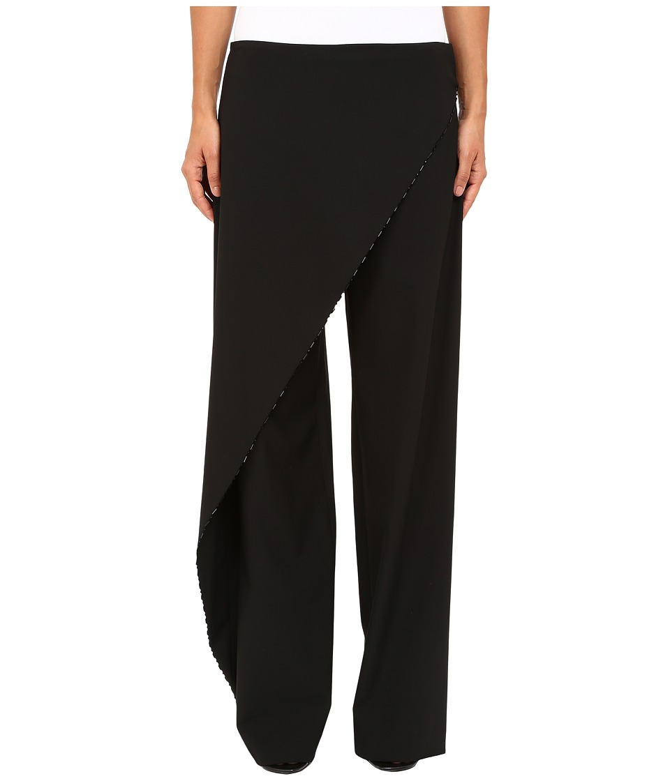 Zac Posen - Stretch Cady Pants Skirt (Black) Women's Clothing