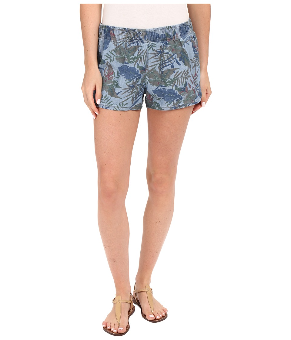 Hudson - Siouxsie Printed Dophin Shorts in Forge (Forge) Women's Shorts
