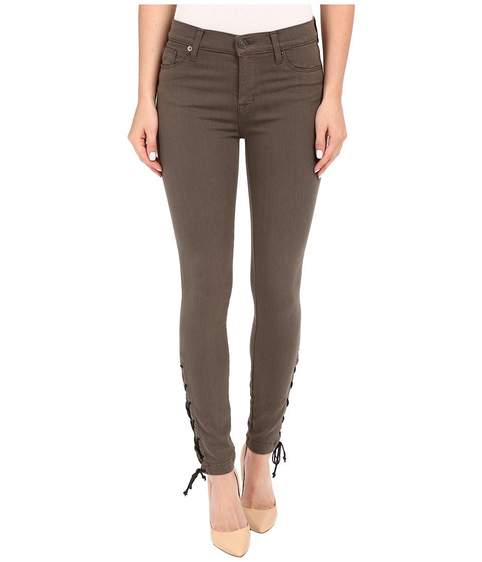 Hudson - Nix Lace Hem Crop in Brunswick Green (Brunswick Green) Women's Jeans