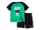Just Do It Raglan Short Sleeve Shorts Set