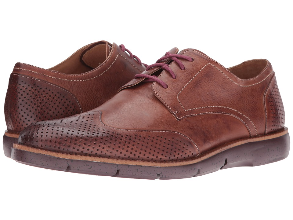 Donald J Pliner - Edd (Brown) Men's Lace up casual Shoes