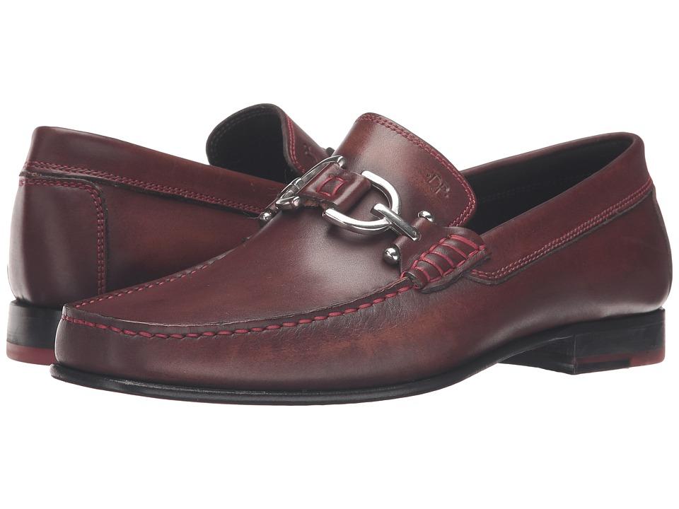 Donald J Pliner - Dacio (Light Brown) Men's Slip-on Dress Shoes