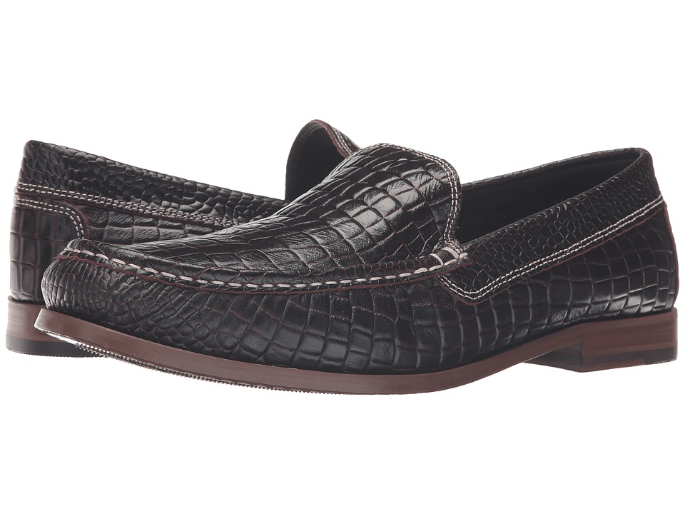 Donald J Pliner - Nate (Burgundy) Men's Shoes