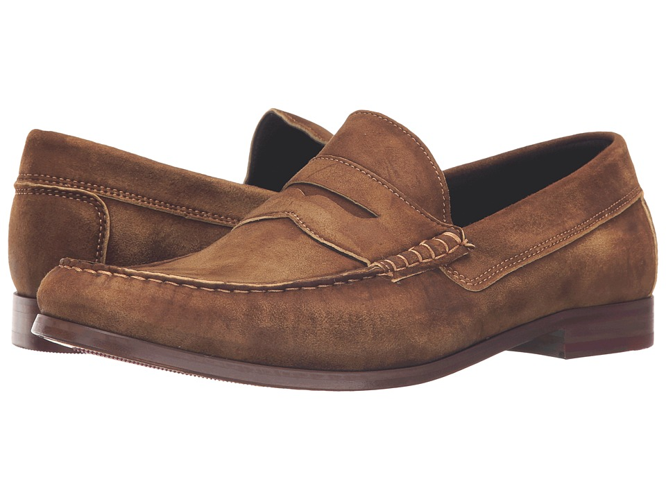 Donald J Pliner - Nicola (Brown) Men's Shoes