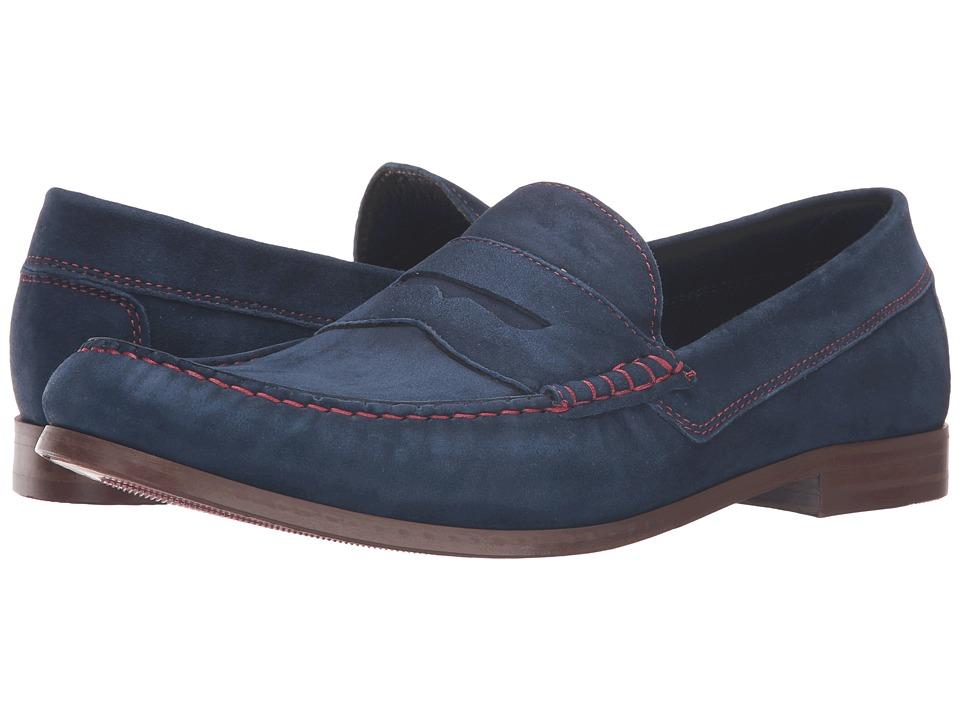 Donald J Pliner - Nicola (Navy) Men's Shoes