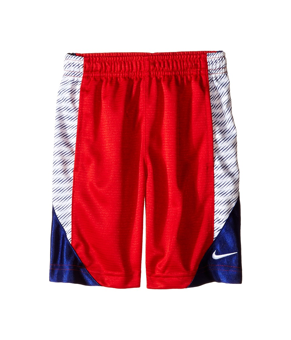 Nike Kids - Avalanche Allover Print Short (Toddler) (University Red) Boy's Shorts