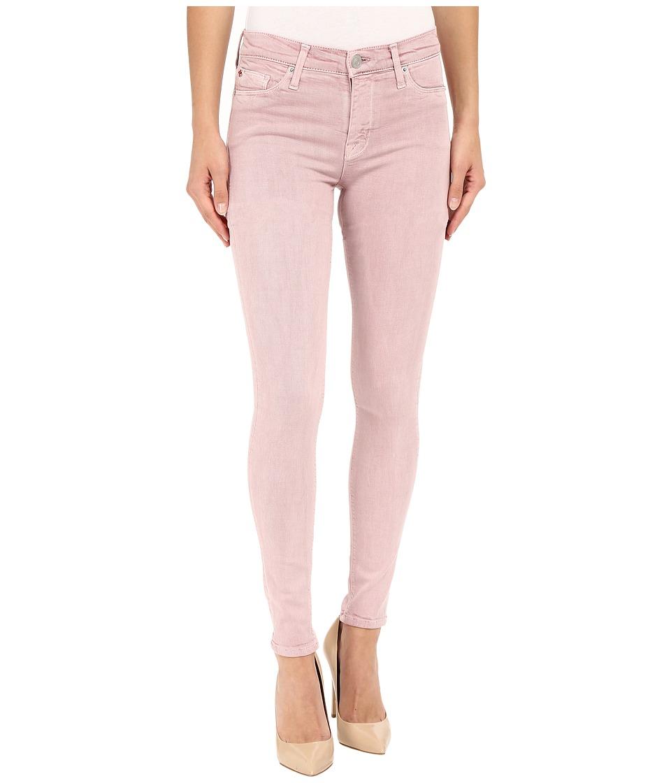 Hudson - Nico Mid-Rise Super Skinny in Soft Pink (Topanga) Women's Jeans