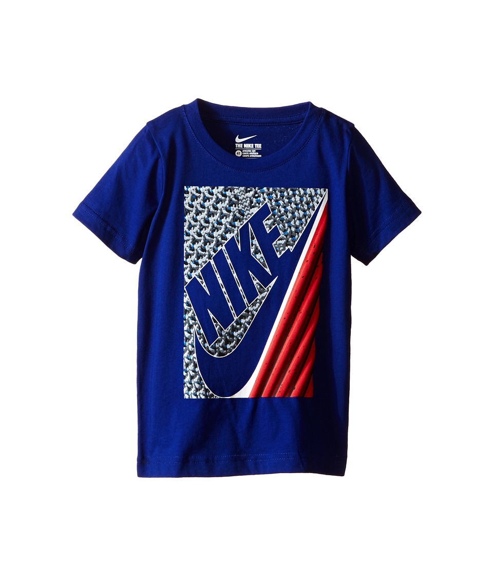 Nike Kids - Lunarlon Short Sleeve Tee (Toddler) (Deep Royal Blue) Boy's T Shirt