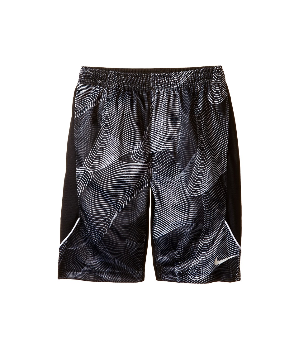 Nike Kids - Legacy Shorts (Little Kids) (Black) Boy's Shorts