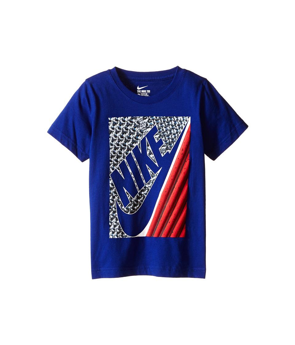 Nike Kids - Lunarlon Short Sleeve Tee (Little Kids) (Deep Royal Blue) Boy's T Shirt