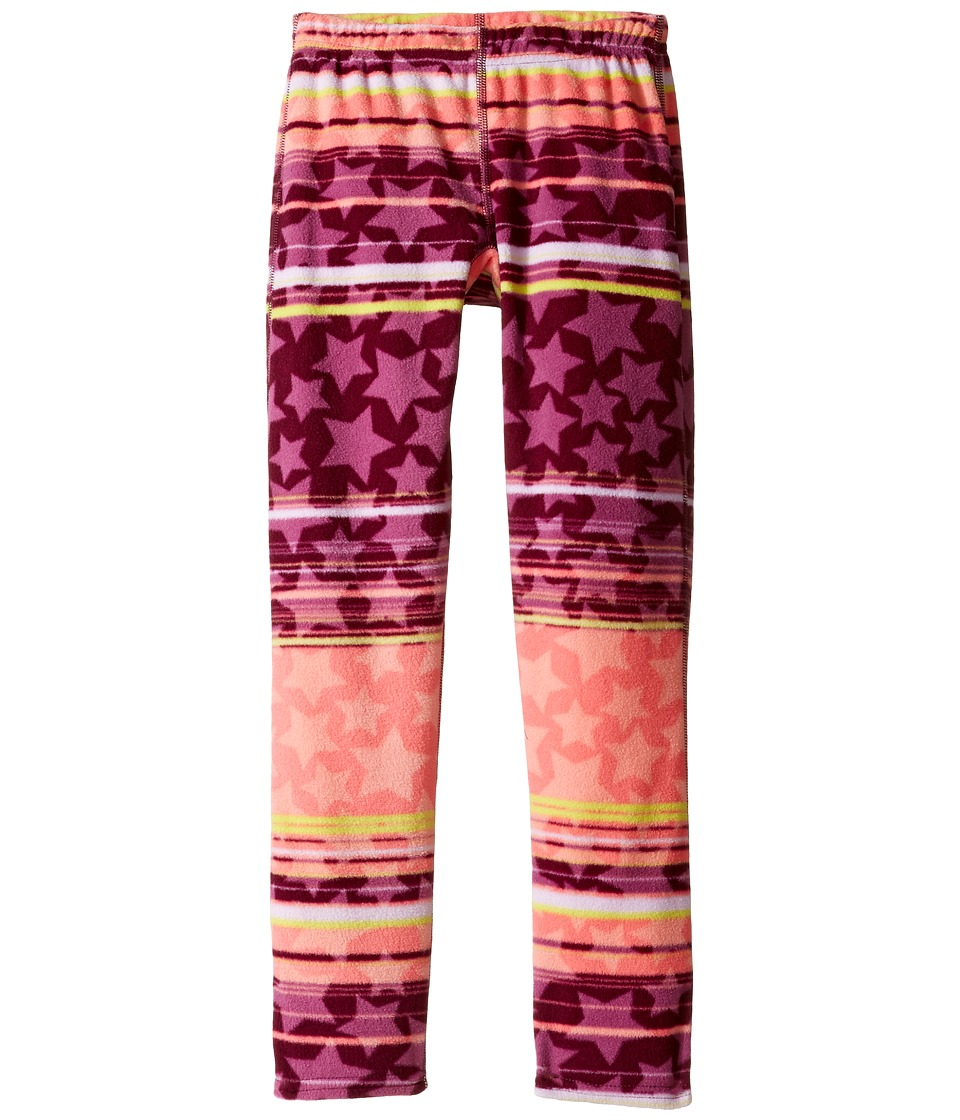 Hot Chillys Kids - Micro Fleece Print Bottom (Little Kids/Big Kids) (Allstar Brite) Kid's Fleece