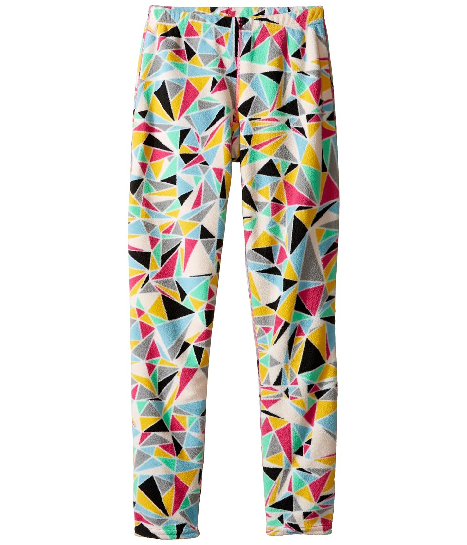 Hot Chillys Kids - Micro Fleece Print Bottom (Little Kids/Big Kids) (Shatter Prism) Kid's Fleece