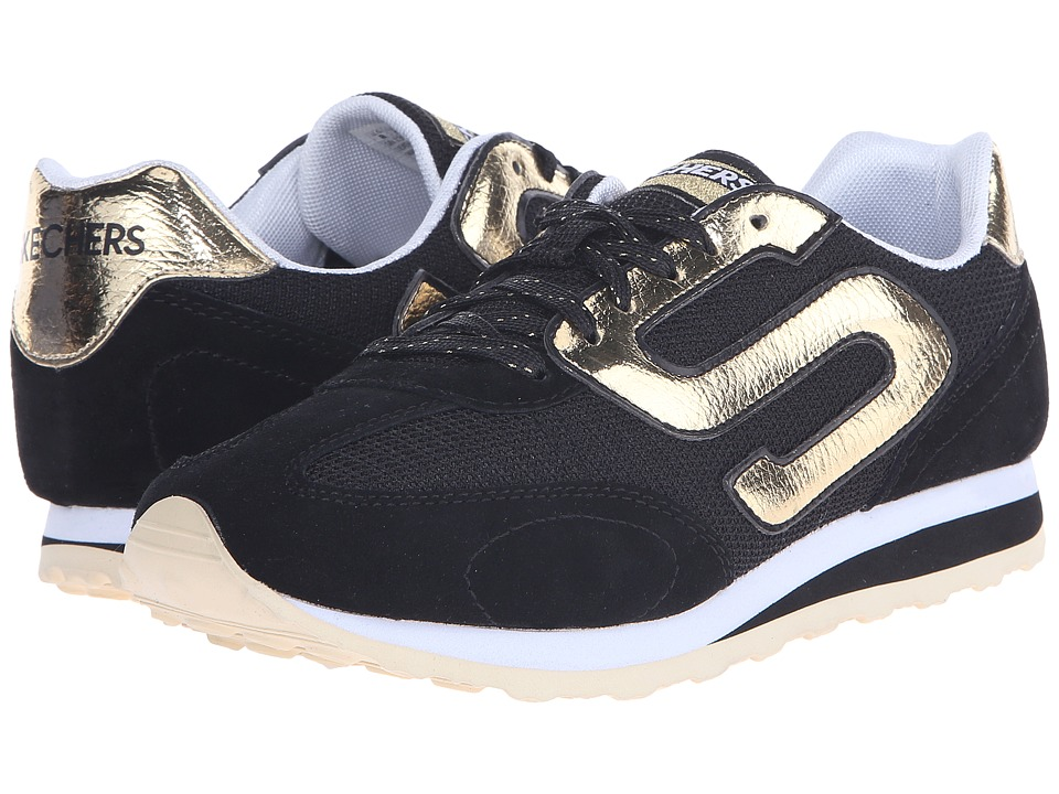SKECHERS - OG 73 (Black/Gold) Women's Shoes