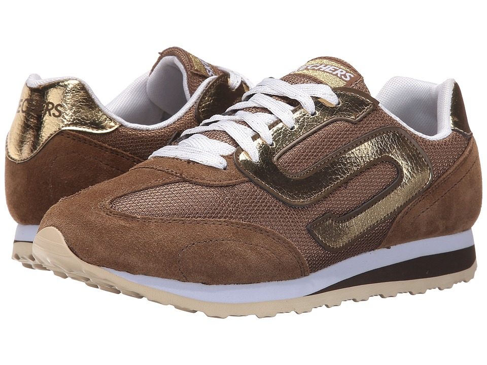 SKECHERS - OG 73 (Taupe/Gold) Women's Shoes