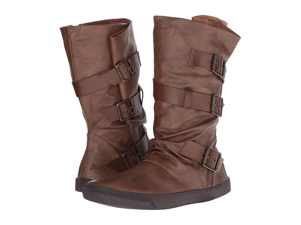 Blowfish - Pie (Whiskey Old Ranger/Whiskey Pisa PU) Women's Pull-on Boots