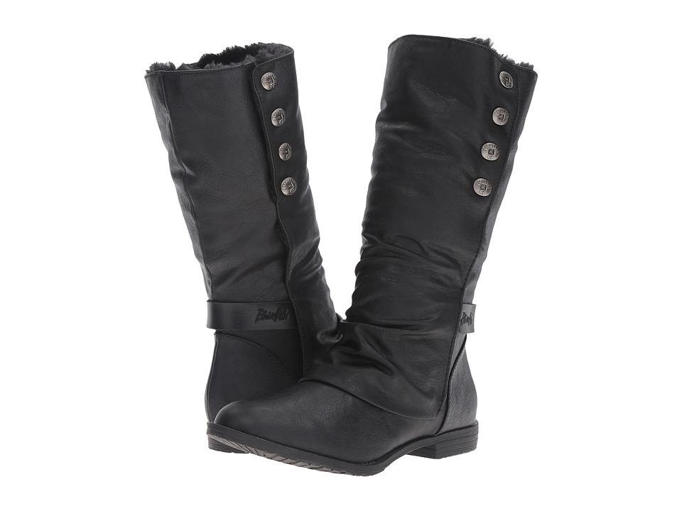 Blowfish - Tonya SHR (Black Old Ranger PU/Dyecut PU) Women's Pull-on Boots