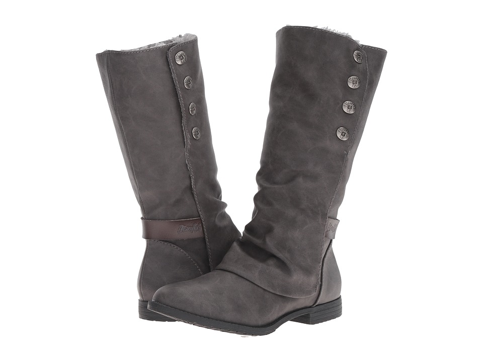 Blowfish - Tonya SHR (Grey Texas PU/Dyecut PU) Women's Pull-on Boots